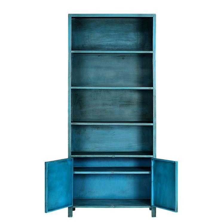 furnlab quenta b cherregal metall blau home24. Black Bedroom Furniture Sets. Home Design Ideas