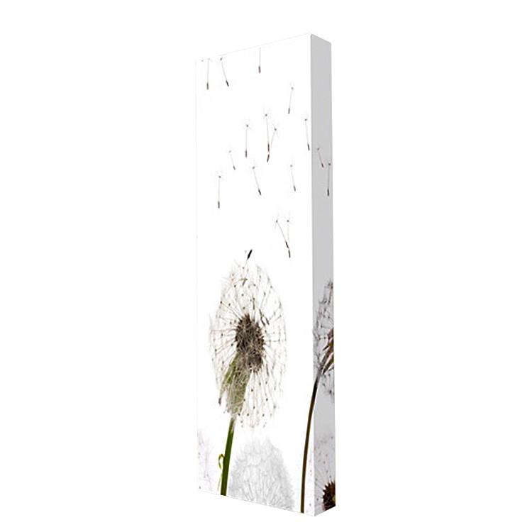 Neu schuhschrank wandmontage pusteblume motiv schuhregal for Schuhschrank silber metall