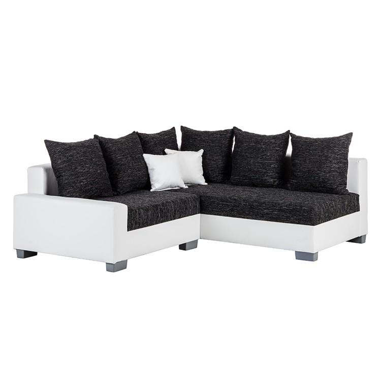 ecksofa venus kunstleder wei home24. Black Bedroom Furniture Sets. Home Design Ideas