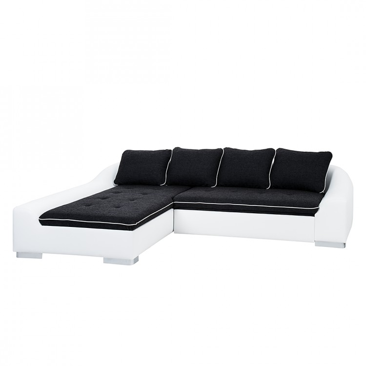 ecksofa vienna schlaffunktion kunstleder online kaufen home24. Black Bedroom Furniture Sets. Home Design Ideas