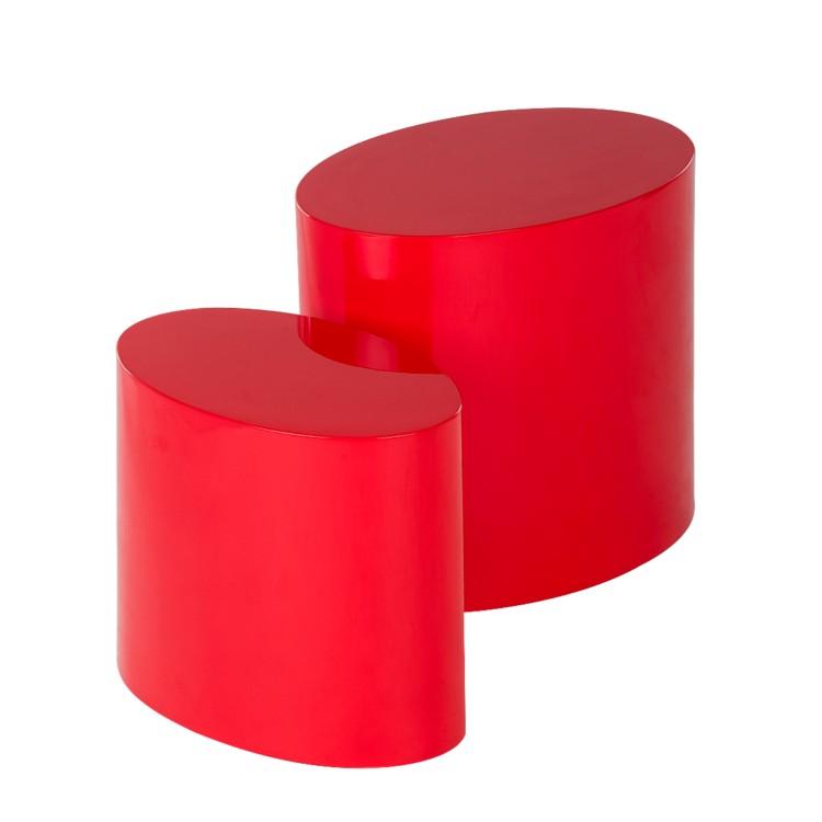 beistelltisch rot