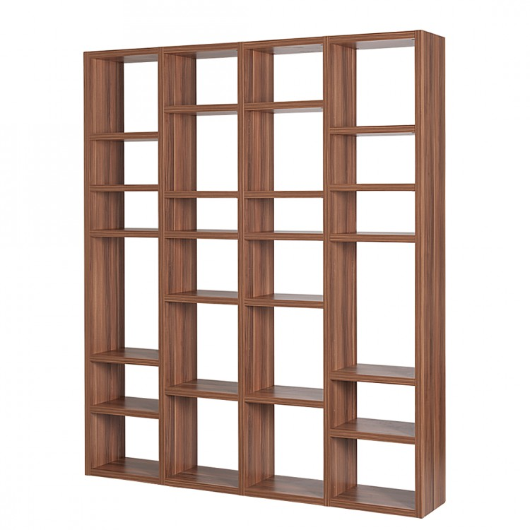 Etag re murale empire noyer - Etagere grande hauteur ...