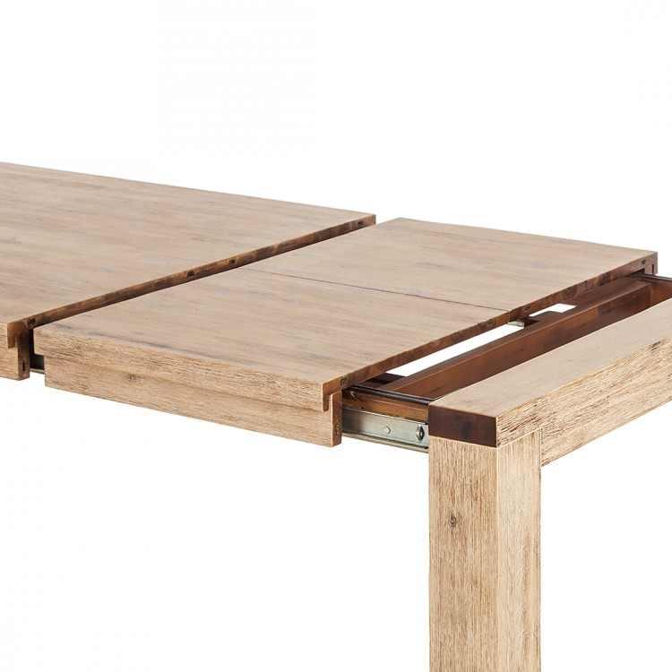 Table coast extractible bois d 39 acacia bross for Table extractible
