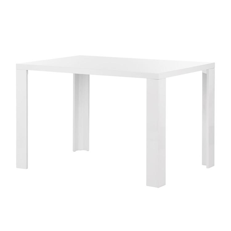esstisch yoki hochglanz wei home24. Black Bedroom Furniture Sets. Home Design Ideas