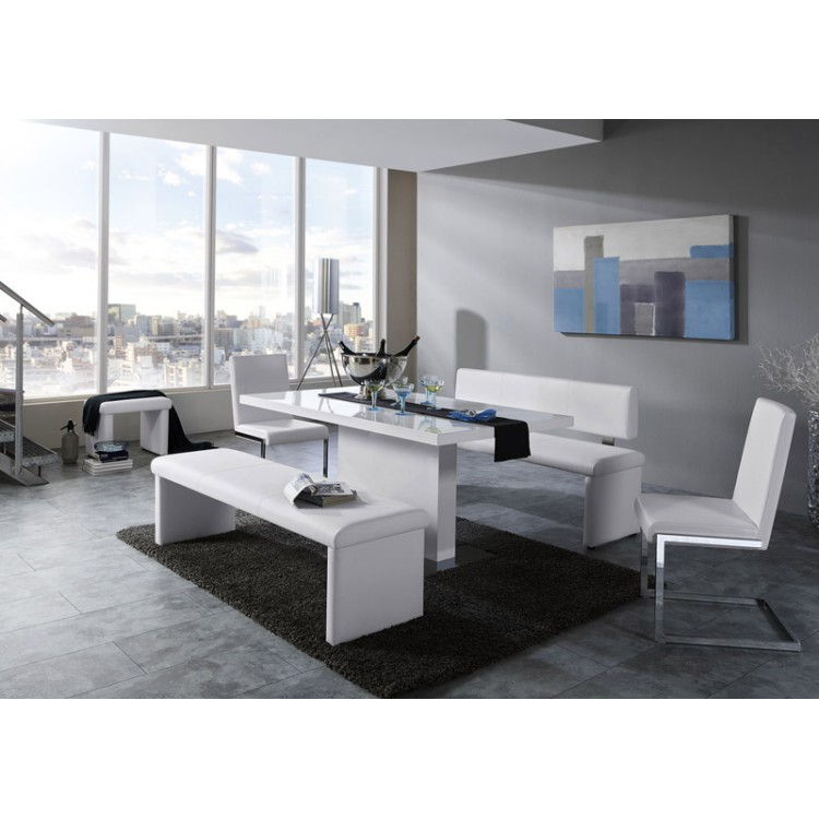 esszimmerm bel set york 5 teilig wei kaufen home24. Black Bedroom Furniture Sets. Home Design Ideas
