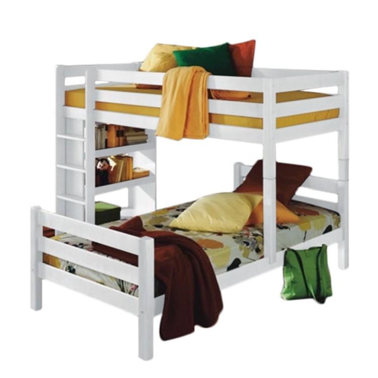 etagenbett beni massivholz buche wei home24. Black Bedroom Furniture Sets. Home Design Ideas