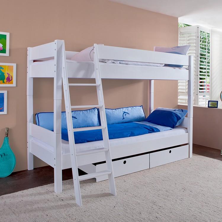 etagenbett stefan massivholz buche home24. Black Bedroom Furniture Sets. Home Design Ideas