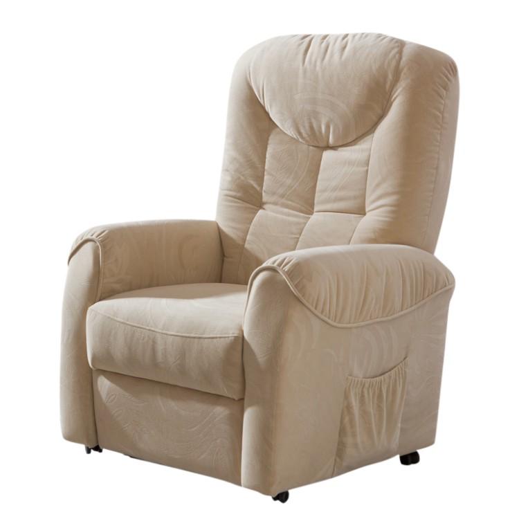 fernsehsessel droppin textil beige home24. Black Bedroom Furniture Sets. Home Design Ideas