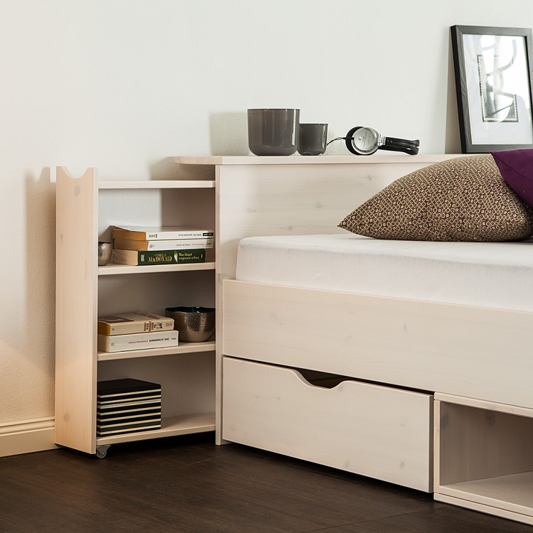 funktionsbett smilla iii kiefer massiv home24. Black Bedroom Furniture Sets. Home Design Ideas