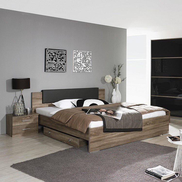 home24 futonbett classic oak home24. Black Bedroom Furniture Sets. Home Design Ideas