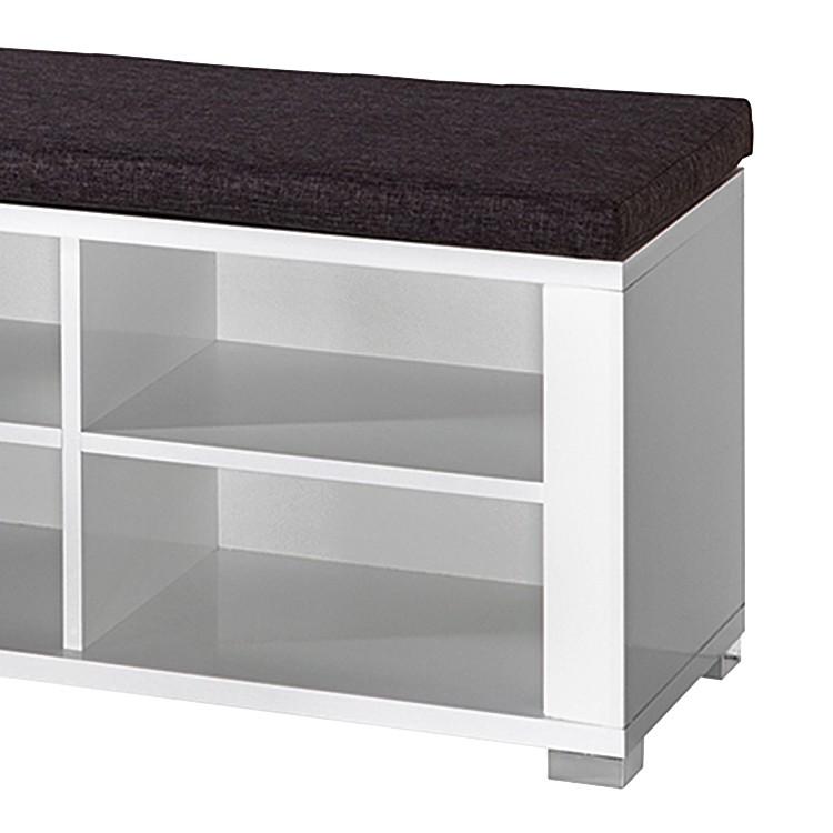 garderobenbank silkeborg hochglanz wei home24. Black Bedroom Furniture Sets. Home Design Ideas