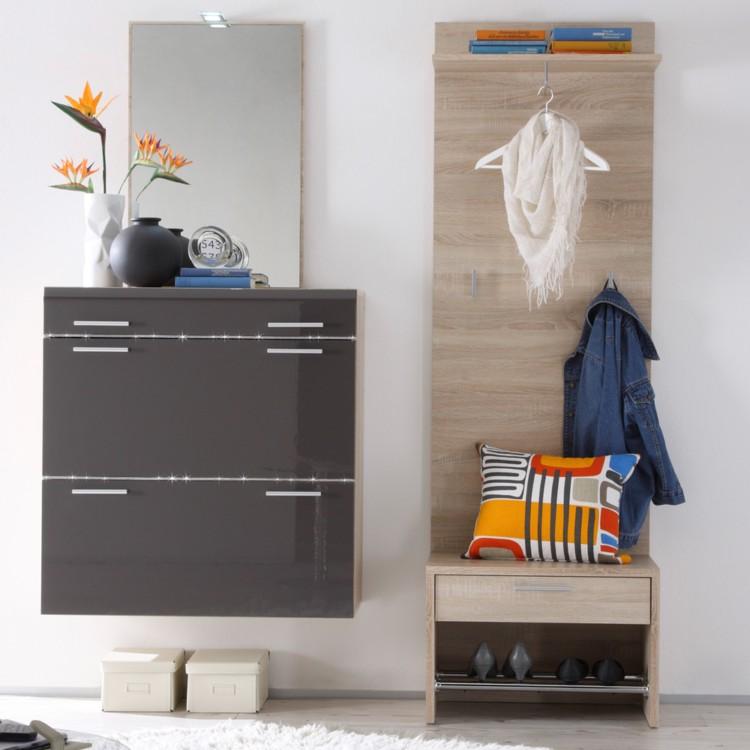garderobenm bel set anatalia 4 teilig home24. Black Bedroom Furniture Sets. Home Design Ideas