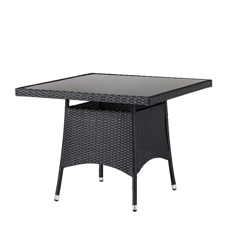 gartenm belset 5 teilig schwarz grau kaufen home24. Black Bedroom Furniture Sets. Home Design Ideas