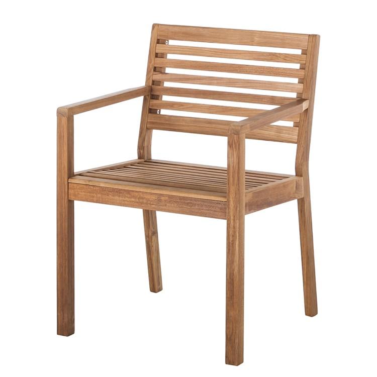 armlehnstuhl teak line linaria home24. Black Bedroom Furniture Sets. Home Design Ideas