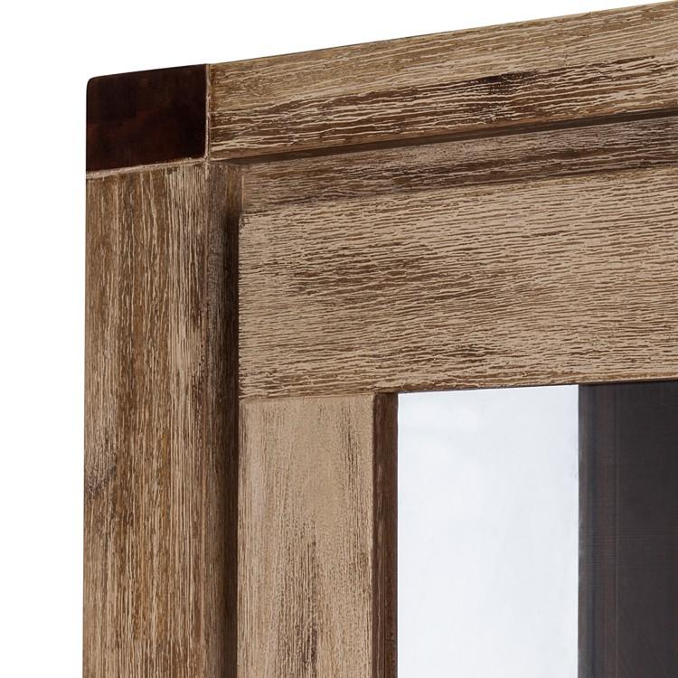 glasvitrine coast akazie massiv home24. Black Bedroom Furniture Sets. Home Design Ideas