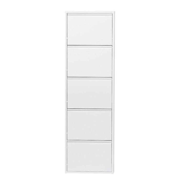 schuhschrank cabinet wei home24. Black Bedroom Furniture Sets. Home Design Ideas
