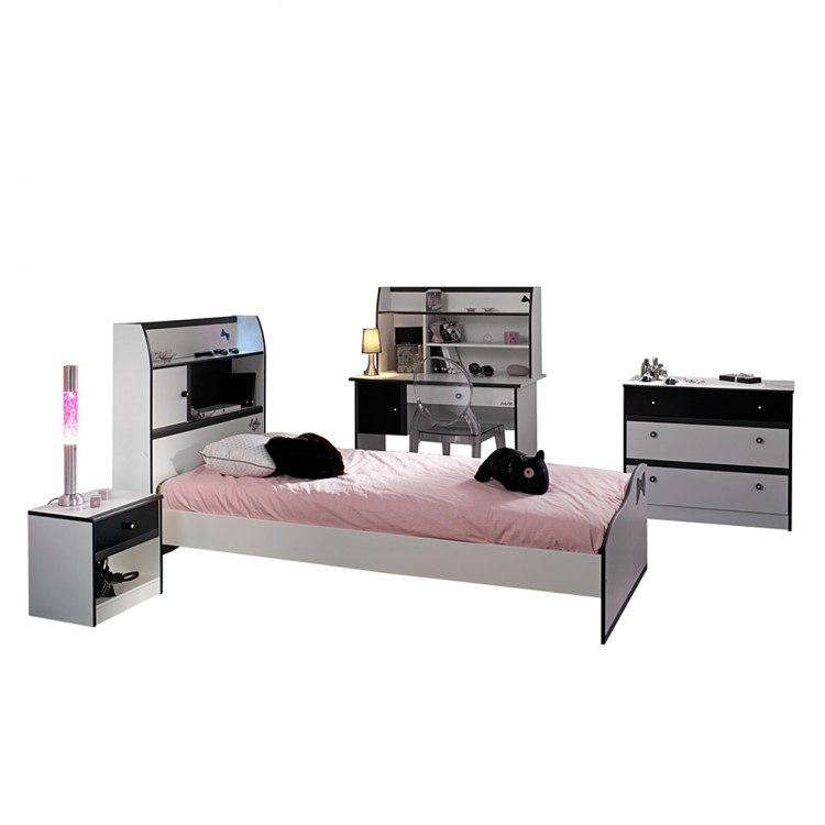 kinderzimmer komplett set samira 4 teilig kaufen home24. Black Bedroom Furniture Sets. Home Design Ideas
