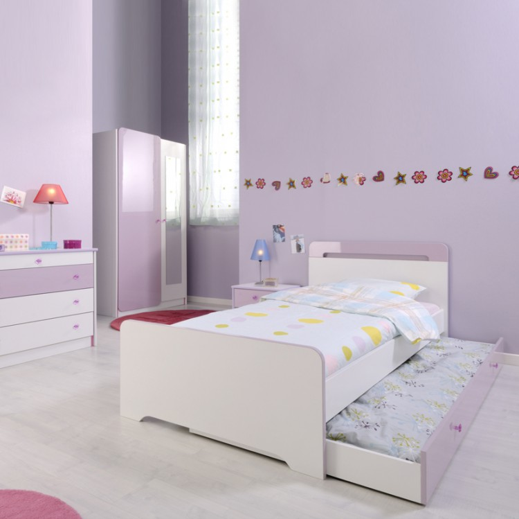kinderzimmerm bel judy 4 teilig in lila online kaufen. Black Bedroom Furniture Sets. Home Design Ideas