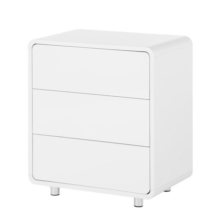 kommode kasy 1 wei hochglanz home24. Black Bedroom Furniture Sets. Home Design Ideas