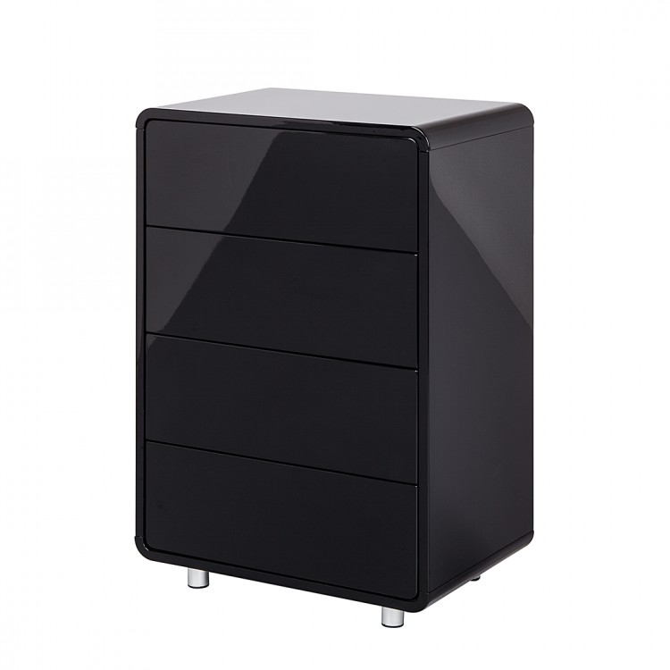 kommode schwarz hochglanz gunstig startseite wohnen. Black Bedroom Furniture Sets. Home Design Ideas