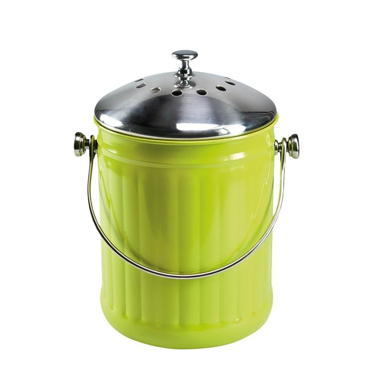 Komposteimer bio buddy grun home24 for Komposteimer küche