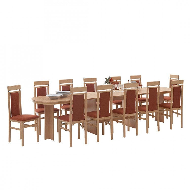 jetzt bei home24 esstisch von home design home24. Black Bedroom Furniture Sets. Home Design Ideas