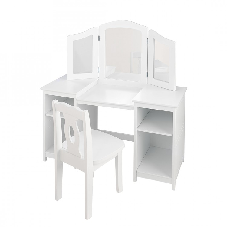 jetzt bei home24 schminktisch von kidkraft home24. Black Bedroom Furniture Sets. Home Design Ideas