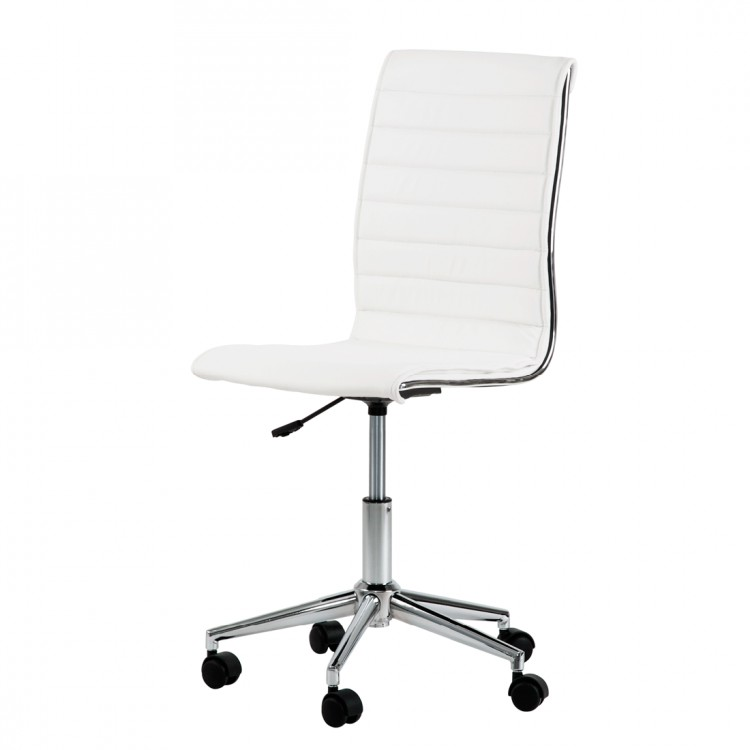 Chaise de bureau pivotante marilyn cuir synth tique - Chaise de bureau pivotante ...