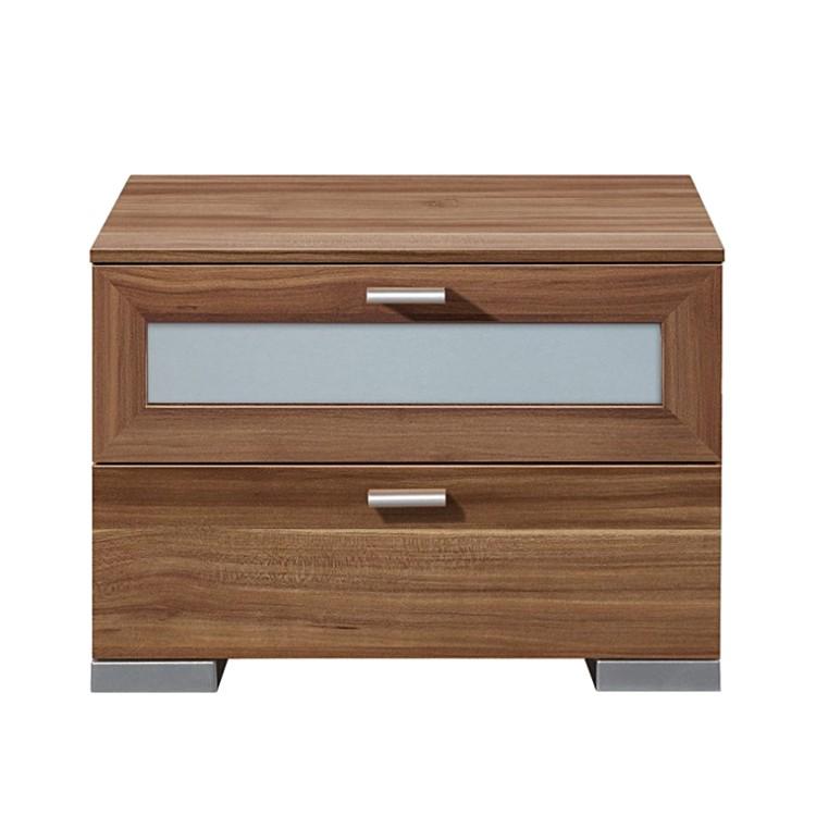 commode de nuit nako gallery 2 tiroirs. Black Bedroom Furniture Sets. Home Design Ideas