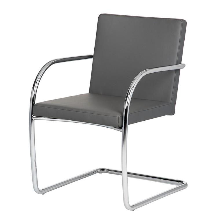chaise de salle d 39 attente owen gris. Black Bedroom Furniture Sets. Home Design Ideas