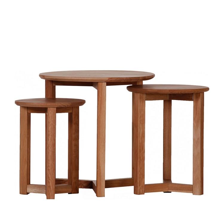 runde beistelltische aus massivem holz die sch nsten tische zum bestellen. Black Bedroom Furniture Sets. Home Design Ideas
