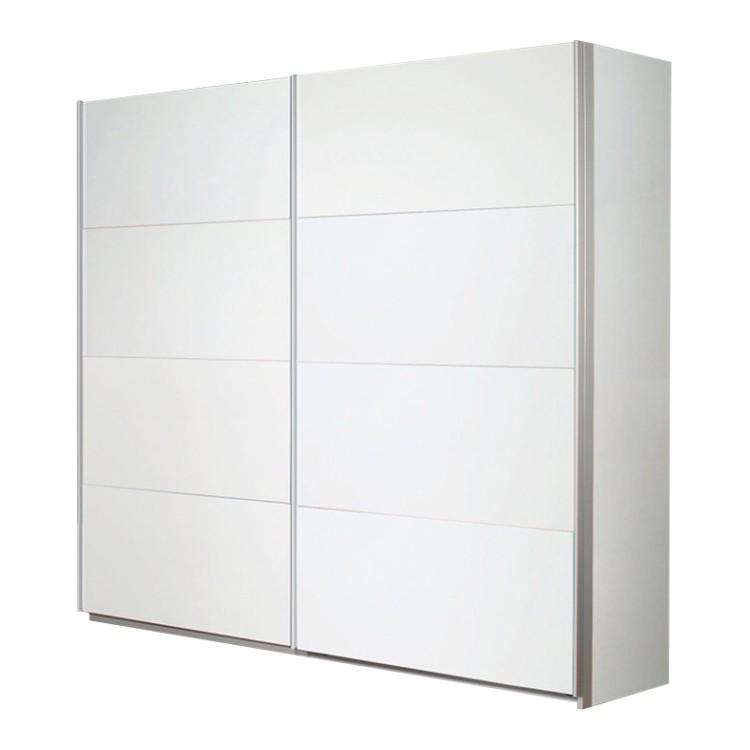 Armoire Portes Coulissantes Quadra Blanc Alpin