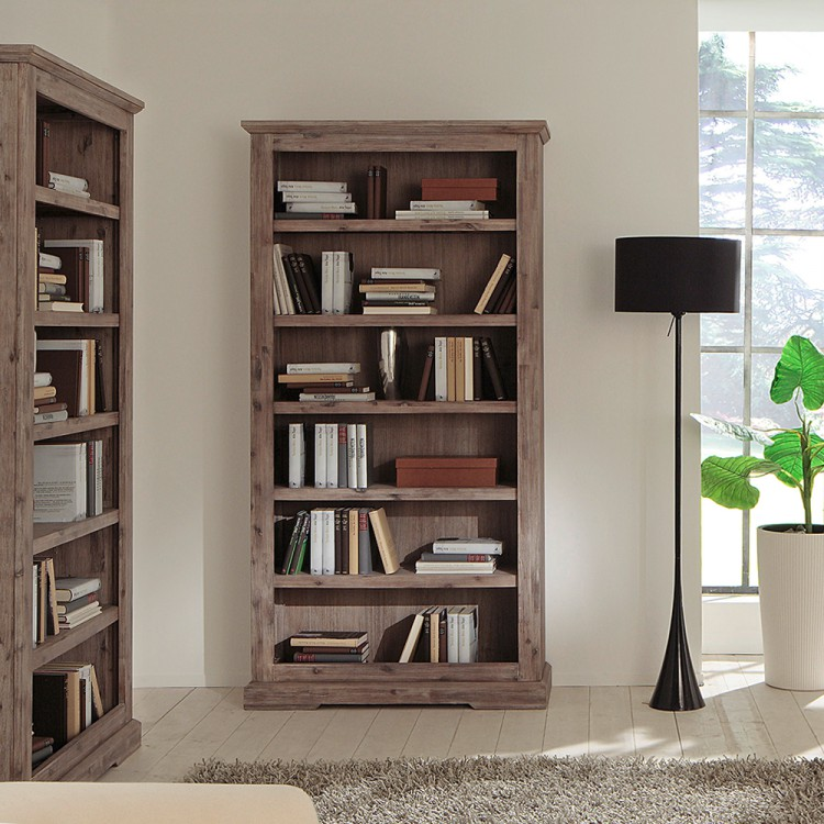 regal delhi akazie massiv geb rstet home24. Black Bedroom Furniture Sets. Home Design Ideas