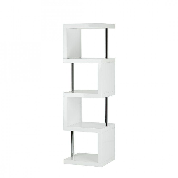 Etag re milano blanc brillant for Bureau 50 cm de largeur