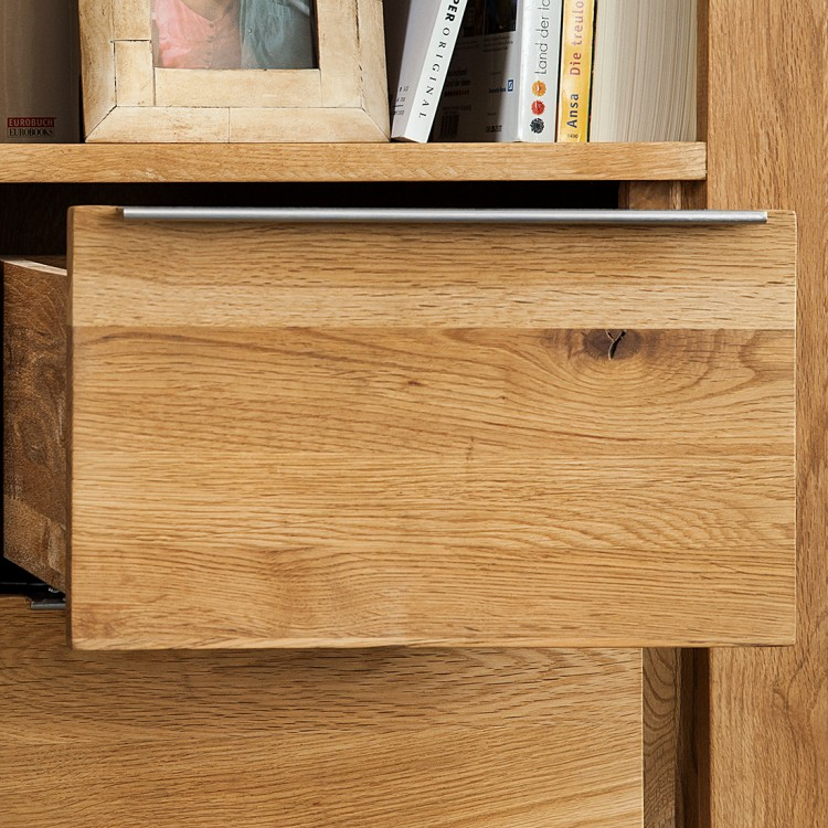 regal tomano eiche massiv home24. Black Bedroom Furniture Sets. Home Design Ideas