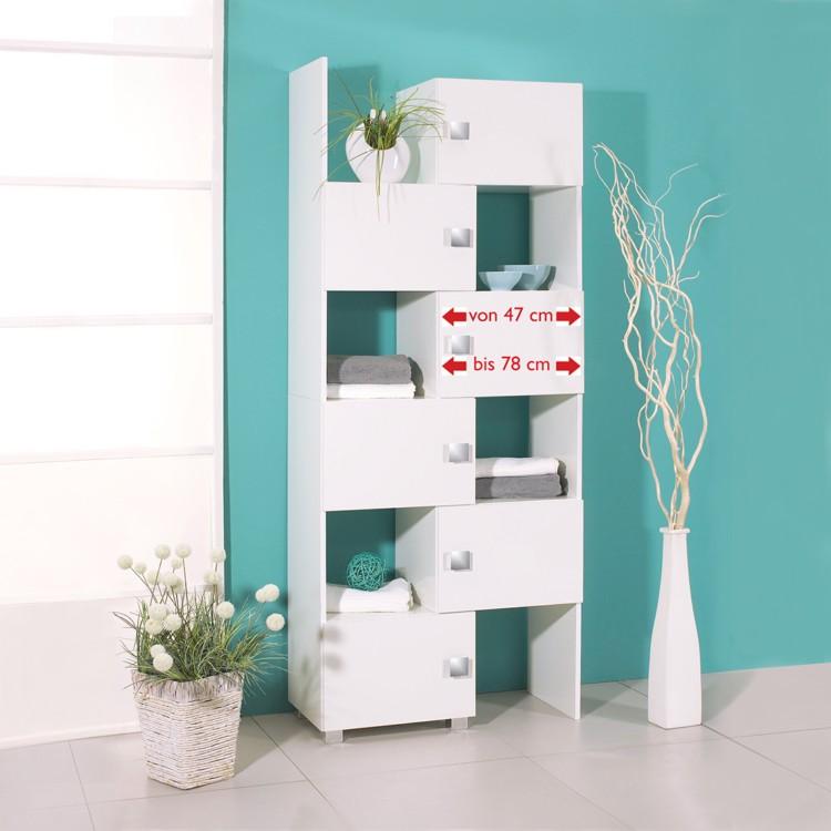 schieberegal genf 2teilig home24. Black Bedroom Furniture Sets. Home Design Ideas