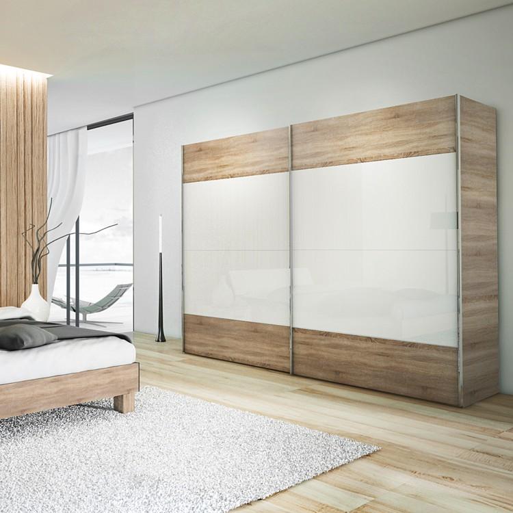 schlafzimmer set sunny day 4 teilig wildeiche online kaufen home24. Black Bedroom Furniture Sets. Home Design Ideas