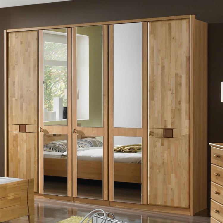 schlafzimmer set venus 4 teilig erle teilmassiv home24. Black Bedroom Furniture Sets. Home Design Ideas