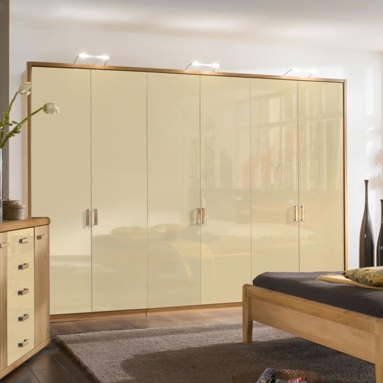 schlafzimmerm bel set merkur 4 teilig erle teilmassiv hochglanz creme home24. Black Bedroom Furniture Sets. Home Design Ideas