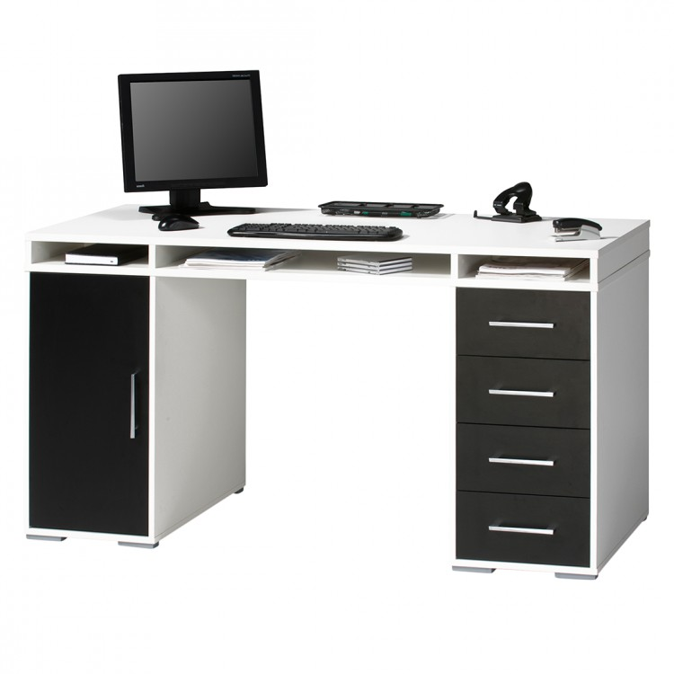 computertisch von home24office bei home24 kaufen home24. Black Bedroom Furniture Sets. Home Design Ideas