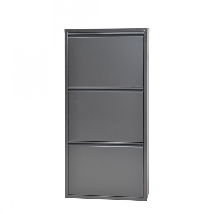 schuhschrank akestor metall home24. Black Bedroom Furniture Sets. Home Design Ideas