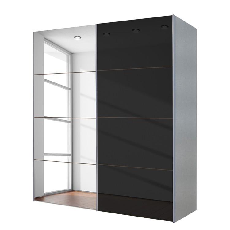 Armoire portes coulissantes colombes avec miroir - Armoire coulissante avec miroir ...