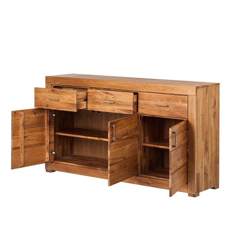 sideboard ancona wildeiche massiv home24. Black Bedroom Furniture Sets. Home Design Ideas