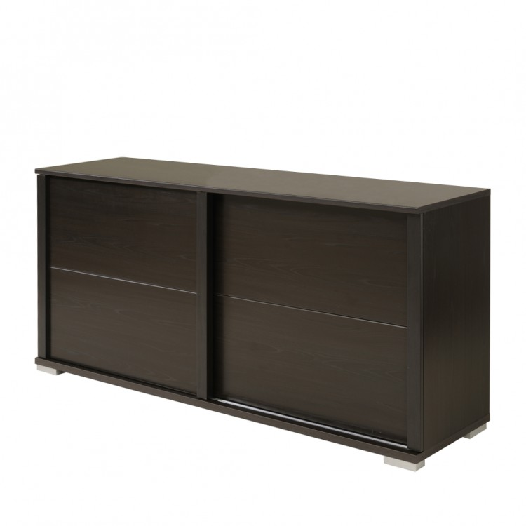 sideboard anesta wenge dekor home24. Black Bedroom Furniture Sets. Home Design Ideas