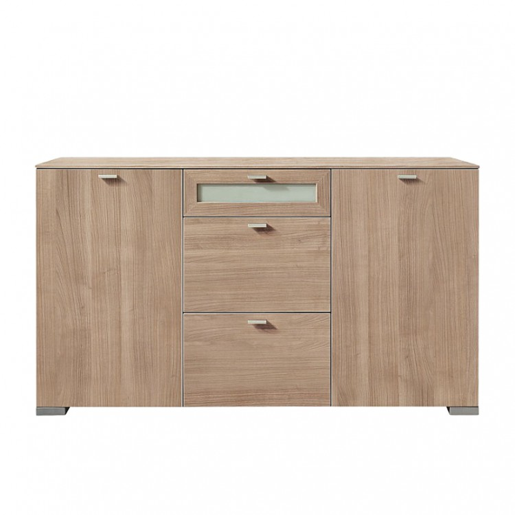 buffet gallery imitation noce. Black Bedroom Furniture Sets. Home Design Ideas
