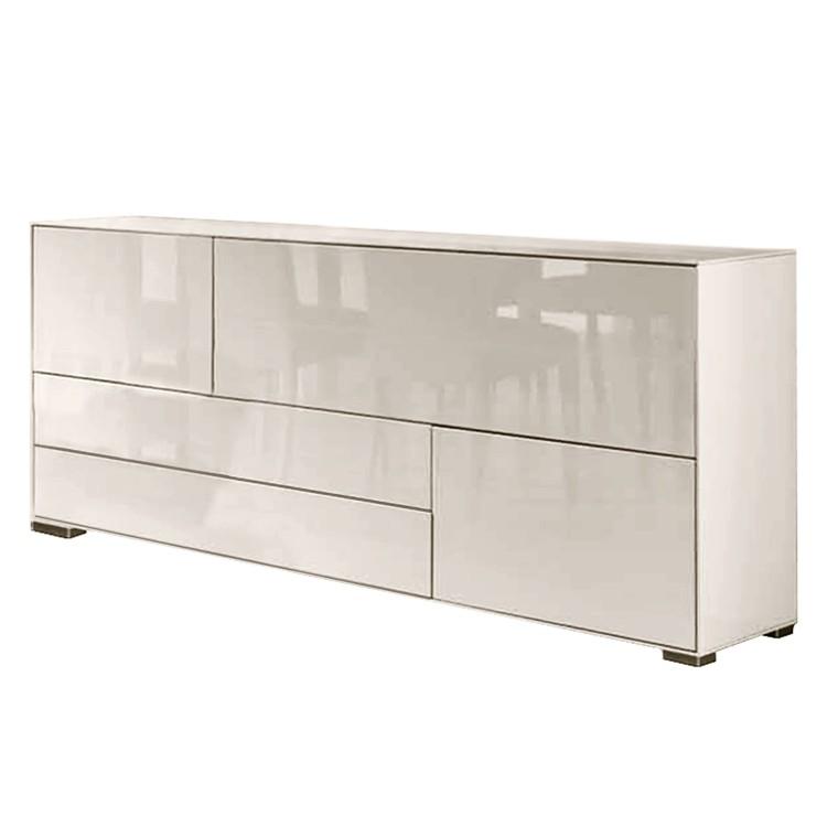 mondo sideboard hochglanz creme das beste aus wohndesign. Black Bedroom Furniture Sets. Home Design Ideas