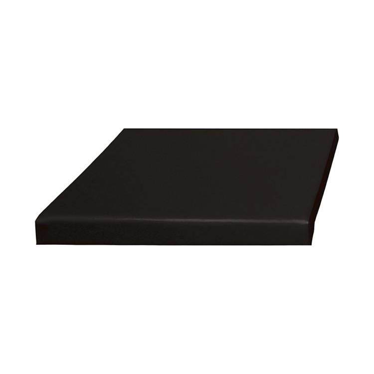 sitzkissen leaf kunstleder schwarz home24. Black Bedroom Furniture Sets. Home Design Ideas