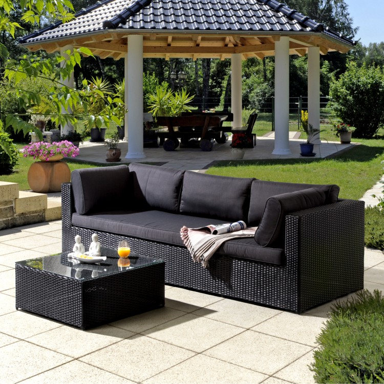 loungesofa chios 2 teilig mit beistelltisch online kaufen home24. Black Bedroom Furniture Sets. Home Design Ideas