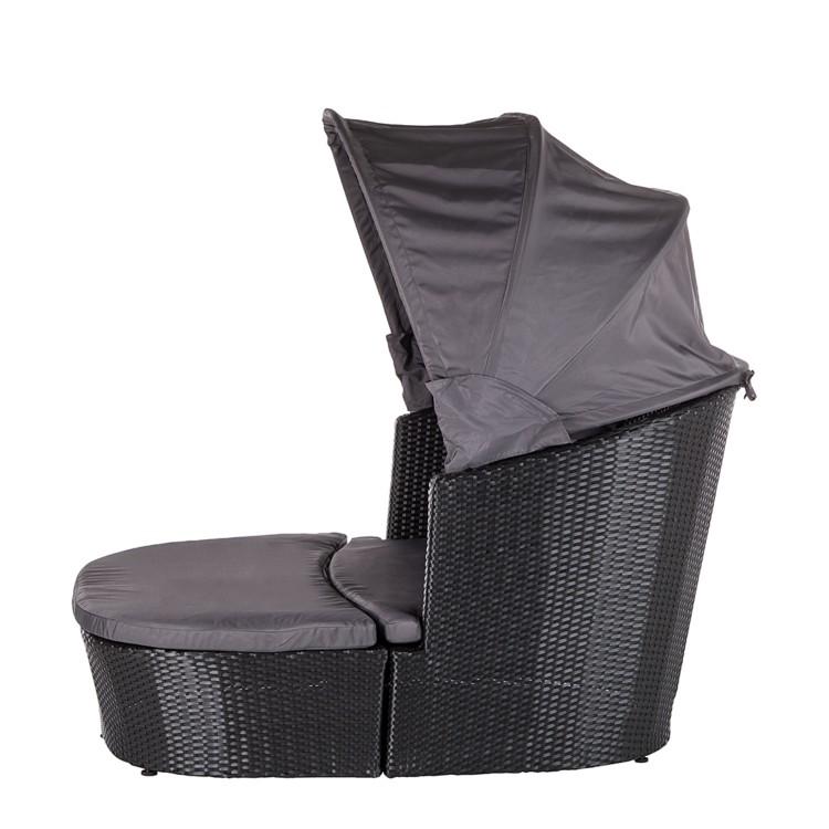 sonneninsel ellos aus polyrattan home24. Black Bedroom Furniture Sets. Home Design Ideas