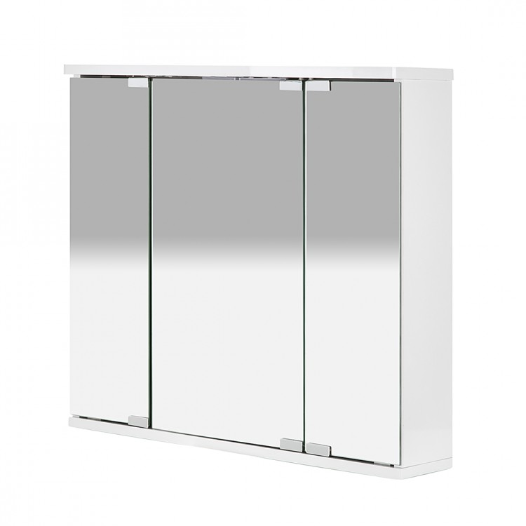 armoire de toilette miroir doro blanc bon prix. Black Bedroom Furniture Sets. Home Design Ideas